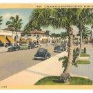 Lincoln Road Shopping District-Miami Beach Florida