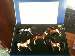 NEW! Breyer Stablemates JAH Connoisseur 2006 Set Limited Edition w/ COA