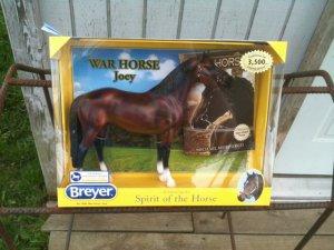 Breyer Joey War Horse Book Gift Set #1489 LIMITED EDITION