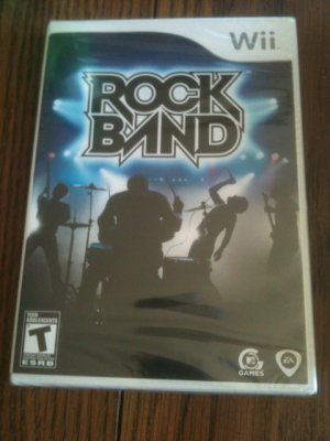 RockBand (Wii) [GAME ONLY] rock band
