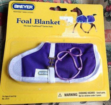 BREYER Foal Blanket #2475 Purple with Halter