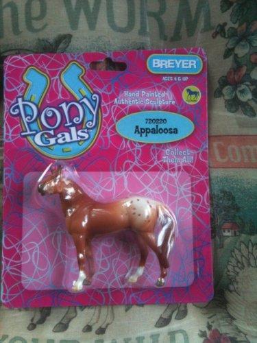BREYER Stablemates Pony Gals Appaloosa #720220