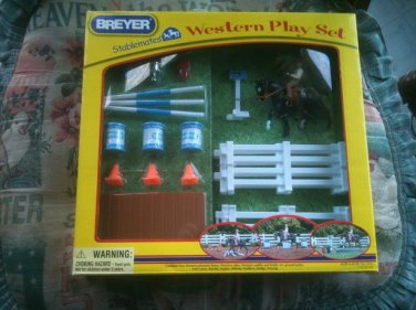 BREYER Western Play Set Stablemates #5361