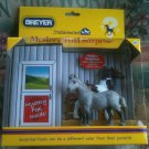 Breyer Stablemates Mystery Foal Surprise Clydesdale Draft Horse Paint Grey #5938