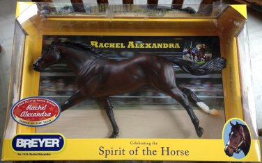 BREYER Rachel Alexandra #1429 race horse thoroughbred ruffian mold