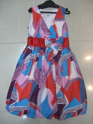 Diane Von Furstenberg Silk Jersey  Bubble Dress