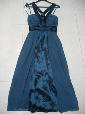 BCBG  Max and Cleo Silk 2 Tone Party Dress