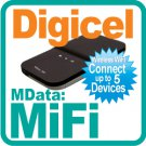 MiFi-Digicel + 3G SIM Card + US$100 Credit