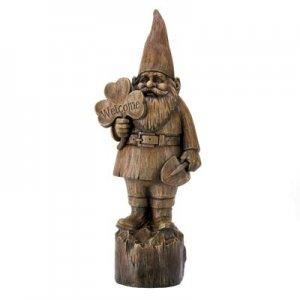 14790 - NEW> Welcome Gnome Statue