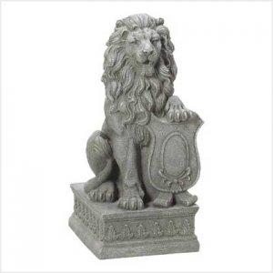 38624 - Lion Guardian Statue