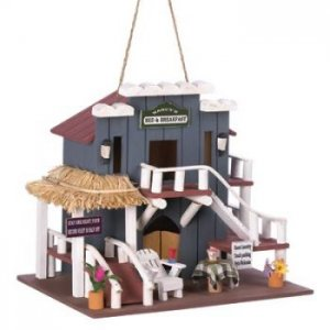 14776 - NEW> Bed And Breakfast Birdhouse