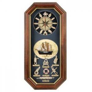 14752 - NEW> Seafaring Wall Clock