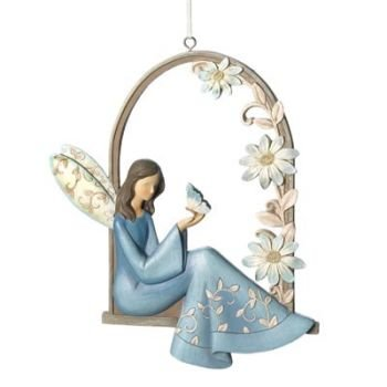 14703 - Angel`s Arbor Wall Plaque - EASTER SALE