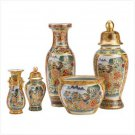 39567 - Asian Palace Vase Ensemble