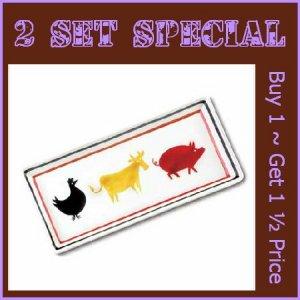 37758 ~ Animal Serving Tray ~ Summer Special