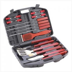 12357 ~ Deluxe Barbeque Tools Set