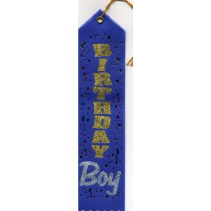 Birthday Boy Printed Award Ribbons