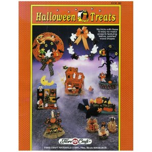 Halloween Treats Easy to Make Wooden Craft Projects & Wreaths