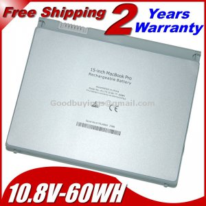 """Free shipping new Battery For Apple MacBook Pro 15"""" A1175 A1150 MA348G/A"""