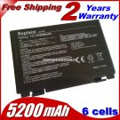 Free shipping New 6 Cell laptop battery for ASUS K60IJ K50IJ K50I K60I A32-F82 A32-F52 X8B X8D