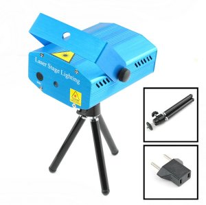 Projector Holographic Laser Star Stage DJ Lighting Mini New