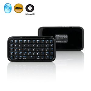 Mini Wireless Bluetooth Keyboard for Mac PC PDA IPAD Smart Pohne