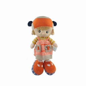 Lovely Cute Soft Girl Stuffed Doll Kids Toy with Clothes New Christmas