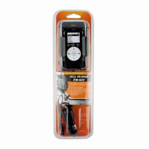 All in One Car Kit Charger FM Transmitter for iPhone 4G/3GS with Remote