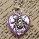 Steampunk Spider Locket Necklace Vintage Style Original Design