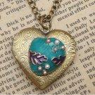 Steampunk Shell Locket Necklace Vintage Style Original Design