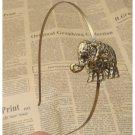 Handmade Steampunk Elephant Headband Vintage Style Original Design