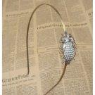 Handmade Steampunk Owl Headband Vintage Style Original Design