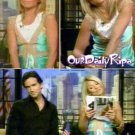 Miguelina Stephanie top in Aqua (turquoise) aso Kelly Ripa