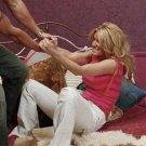 Miss Sixty Luxury nerea decolte stripe tank top aso Jessica Simpson