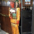 Cigar Store Indian 5 ft Cheers TV Show Hand Carved Wooden Replica