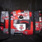 Wisconsin Badger Neck Tie Purse