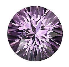 Rose De France Amethyst Loose Gemstone (Oval 14x10mm) TGW 4.23 cts. (Retail $96)