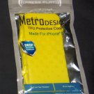 iPhone 5 TPU Protective Case - Yellow (Metro Design)