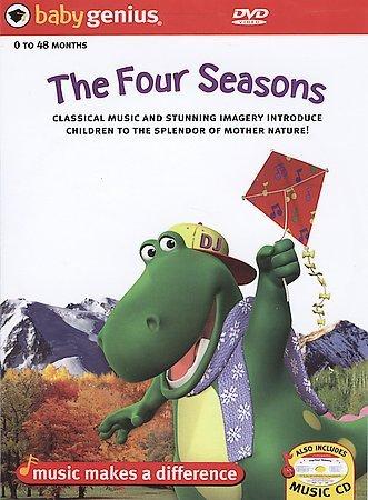 """Baby Genius """"The Four Seasons"""" DVD"""