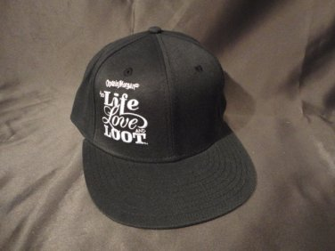 """Captain Morgan fitted men's hat """"Life, Love, Loot"""""""