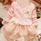 Girl's/Toddler Lace Bow-Sweater -  Size 3T