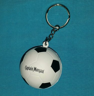 Captain Morgan Rum Soccer Ball Key Chain