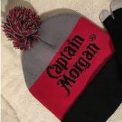 Captain Morgan Beanie (Black, Gray & Red)