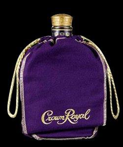 Crown Royal Bag - Purple 750 ml size