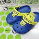 CROCS™ children kid's spongbob shoes Size:6C7-12C13