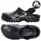 New Crocs™ off ROAD BLACK mens shoes Size:M6/W8-M10/W12
