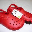 New Crocs™ BEACH CLOGS Red shoes Size: S M L XL