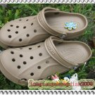 new Crocs™ ADULT BAYA khaki Men' Shoes SZ;M5/W7-M9/W11