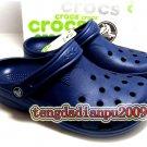 New Crocs™  beach clogs men's darkblue shoes sz;XS S M L XL