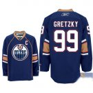 Wholesale - Hockey jerseys Edmonton Oilers blue Gretzky #99 training clothes